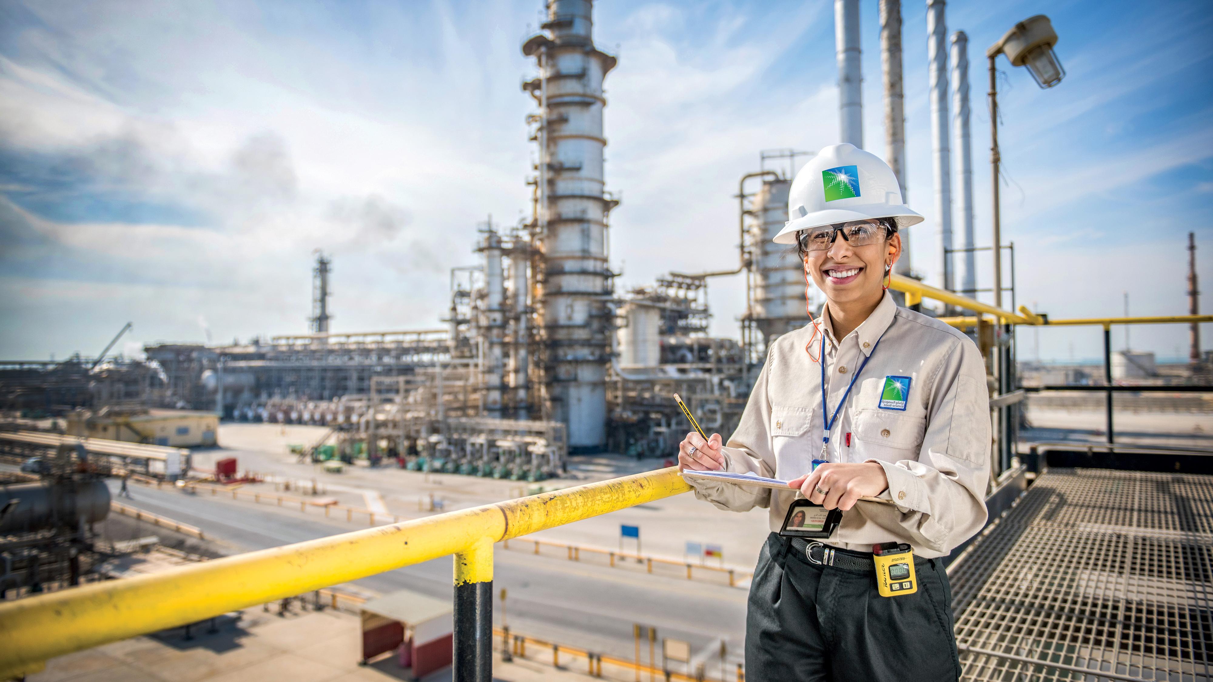 Enabling opportunity - Saudi Aramco