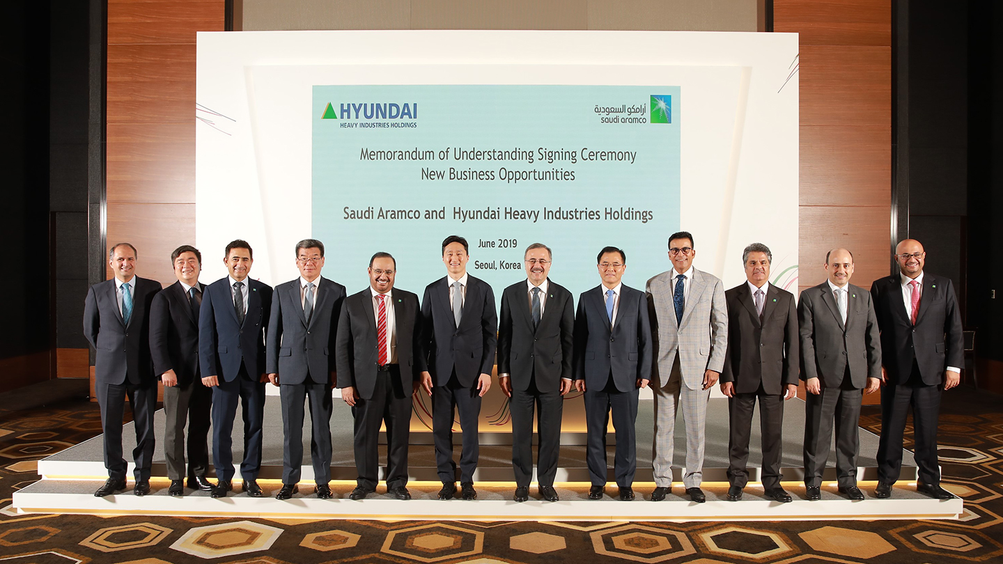 Saudi Aramco signs 12 agreements with South Korean partners worth