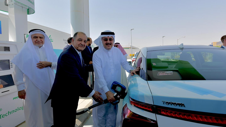 Saudi Aramco and Air Products inaugurate Saudi Arabia's